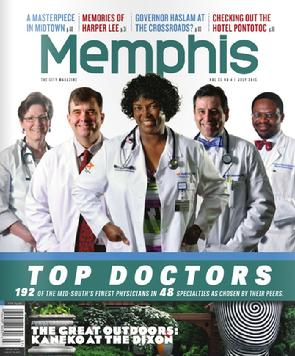 Top Doctor Memphis Magazine 2015
